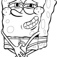 Bob Esponja de cueca