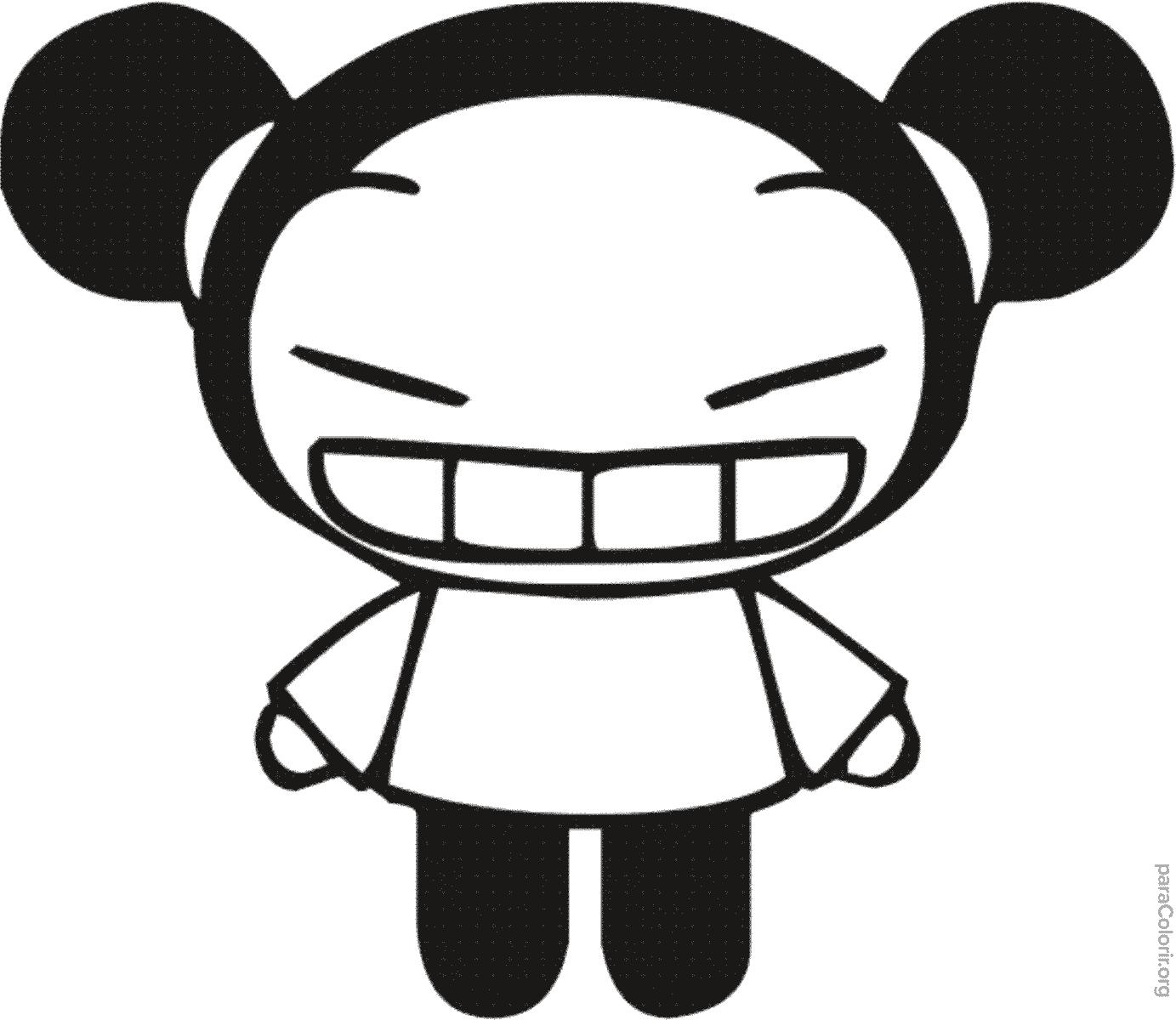 Pucca sorrindo