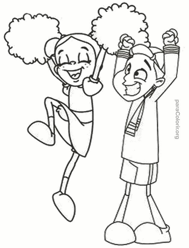 Chiquinha e Kiko festejando