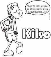 Kiko para colorir