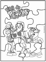 Quebra-cabeça do Chaves para imprimir
