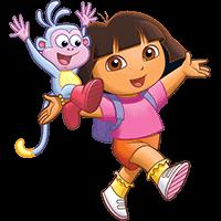 Dora Aventureira para colorir