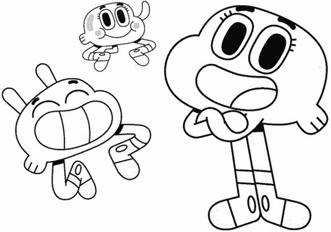 Gumball e seus amigos