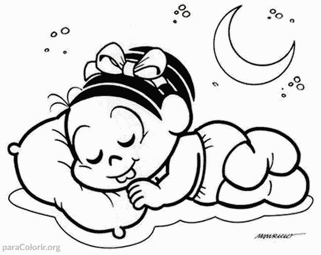 Mônica dormindo