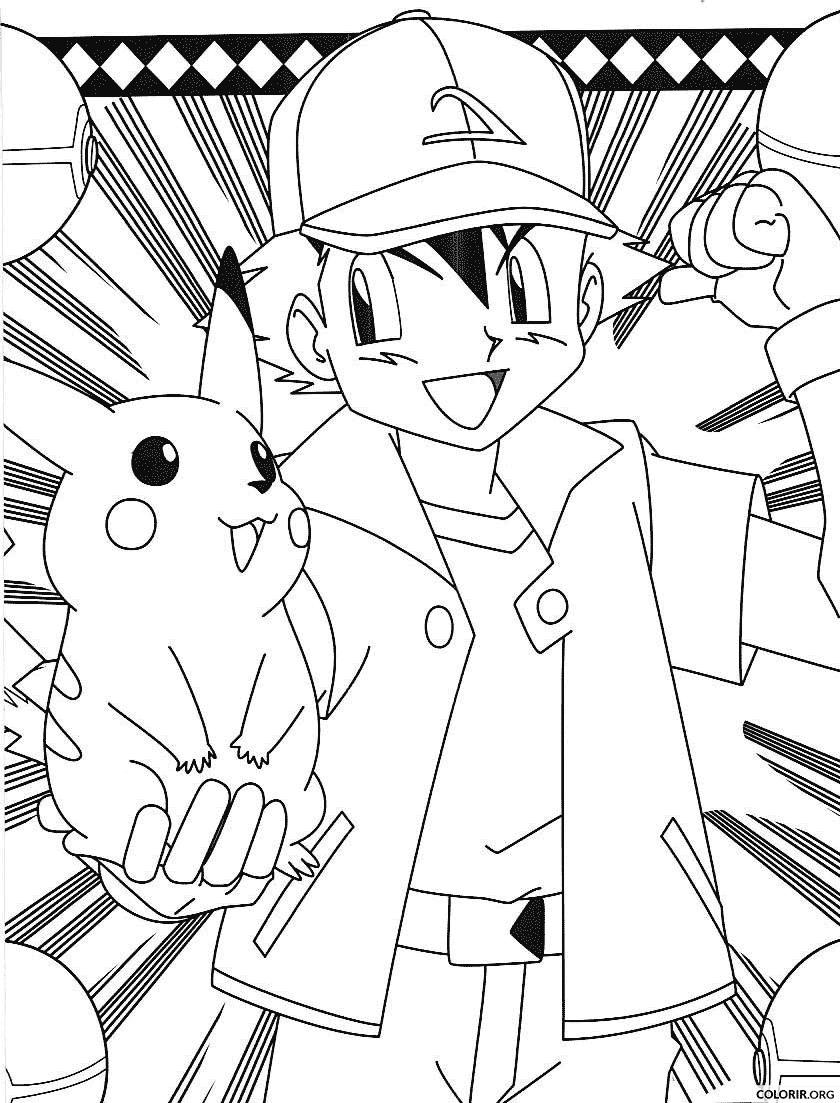 Pokémon: Ash e Pikachu juntos
