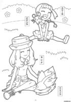 Treinadoras Pokémon para colorir