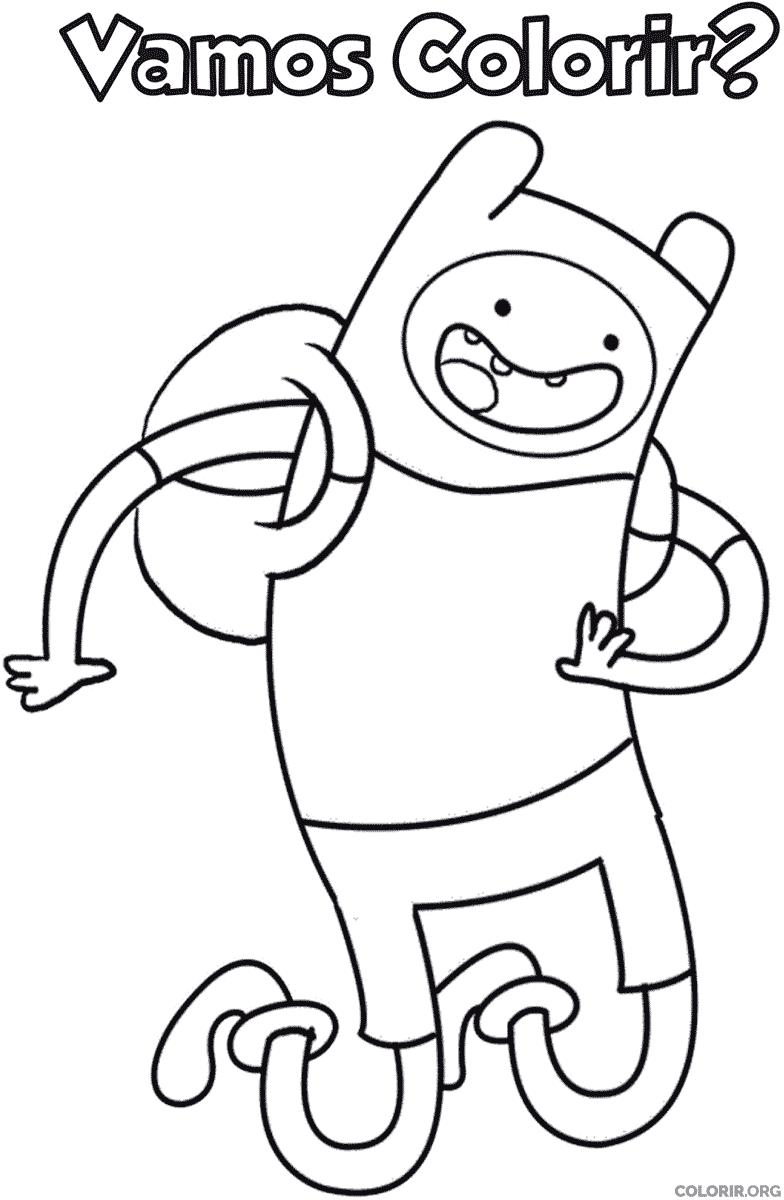 Desenho De Finn Para Colorir Colorir Org