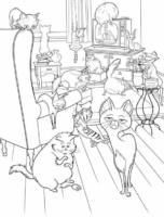 Gatos em Pets, O Filme
