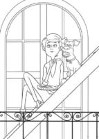 Max e Katie, de Pets, para colorir