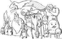 Todos os personagens de Hora de Aventura