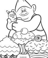 Biggie e Mr. Dinkles para colorir