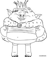 Prins Gristle para colorir