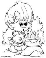 Troll comemorando aniversário