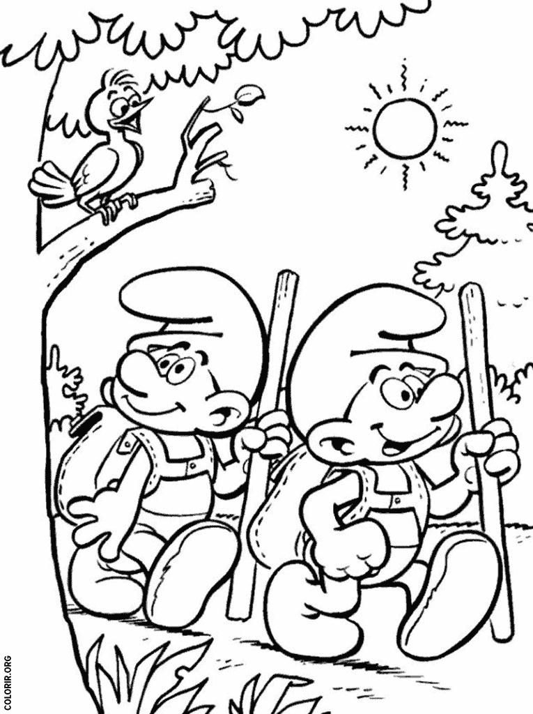 Smurfs em busca de aventura