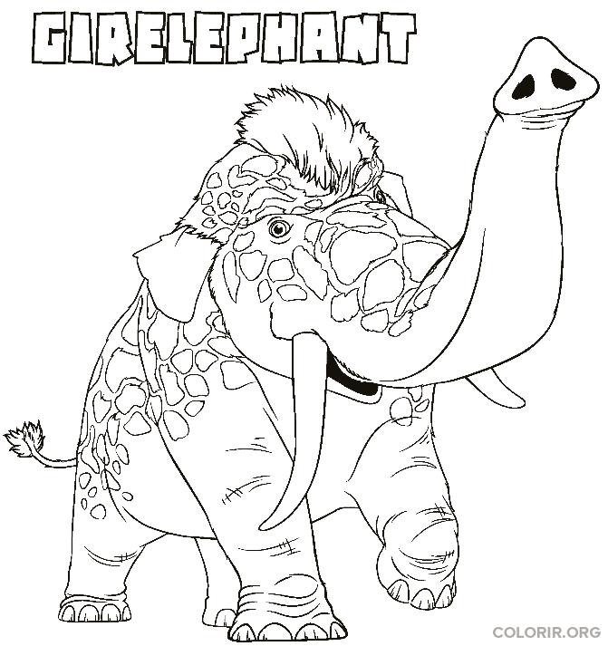 Elefante do filme Os Croods