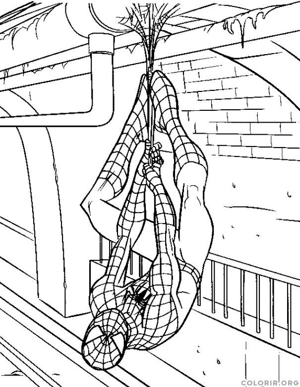 Homem Aranha descansando em metro