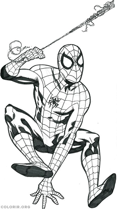 Homem Aranha em ação