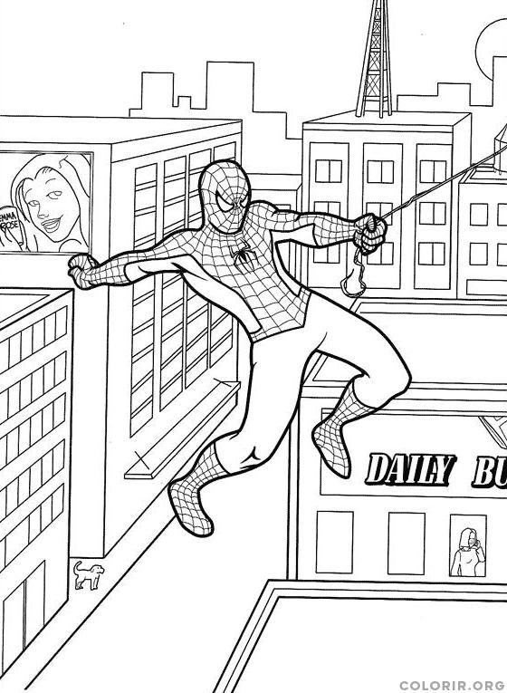 Homem Aranha na cidade grande