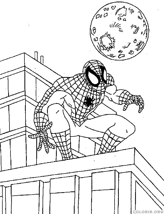 Homem Aranha na noite