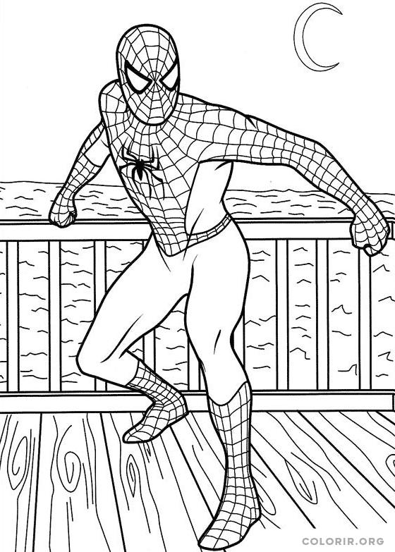 Homem Aranha no deck