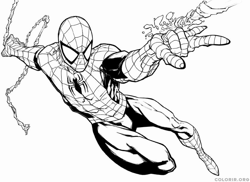 homem aranha realista