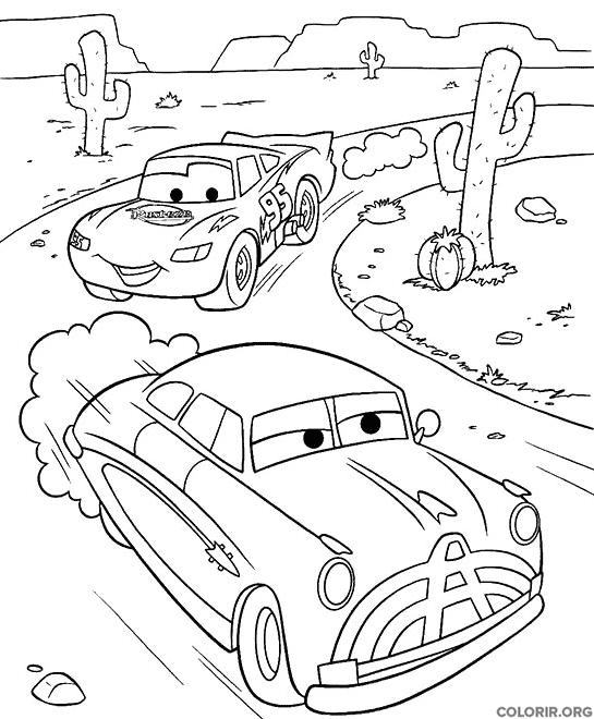 Rel mpago mcqueen no deserto - Coloriage car wash ...