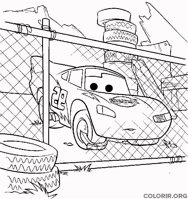 Relâmpago McQueen preso