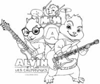 A banda de Alvin e Os Esquilos