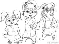 Esquiletes de Alvin e Os Esquilos