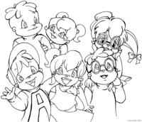 Personagens de Alvin e Os Esquilos