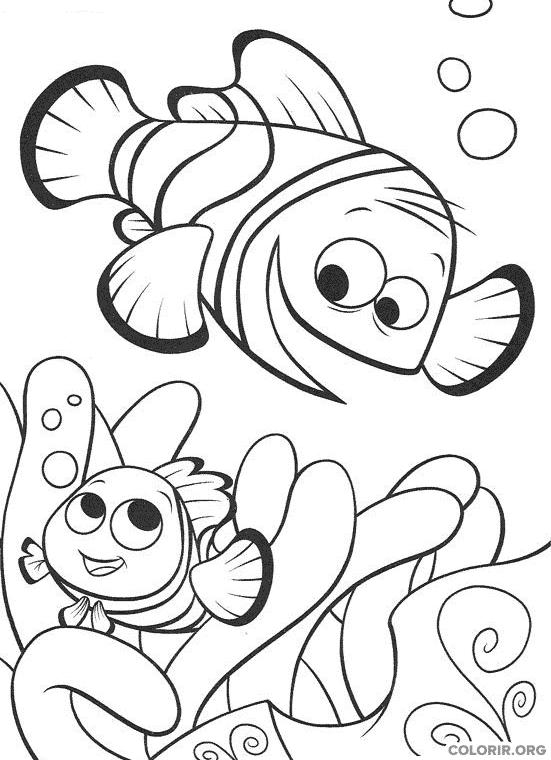 Desenho de Procurando Nemo (11)