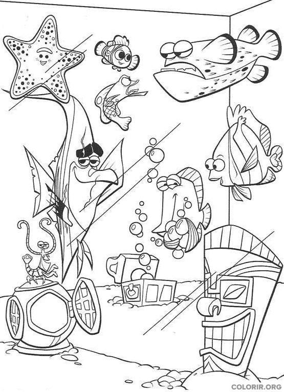 Desenho de Procurando Nemo (12)