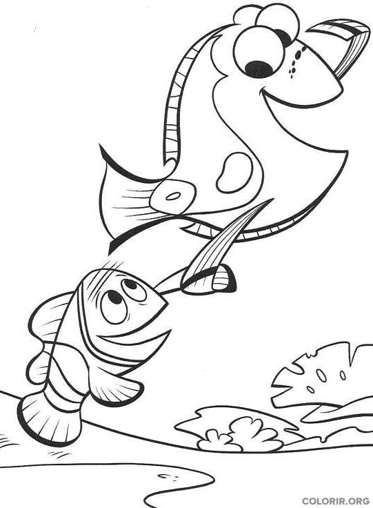 Desenho de Procurando Nemo (13)