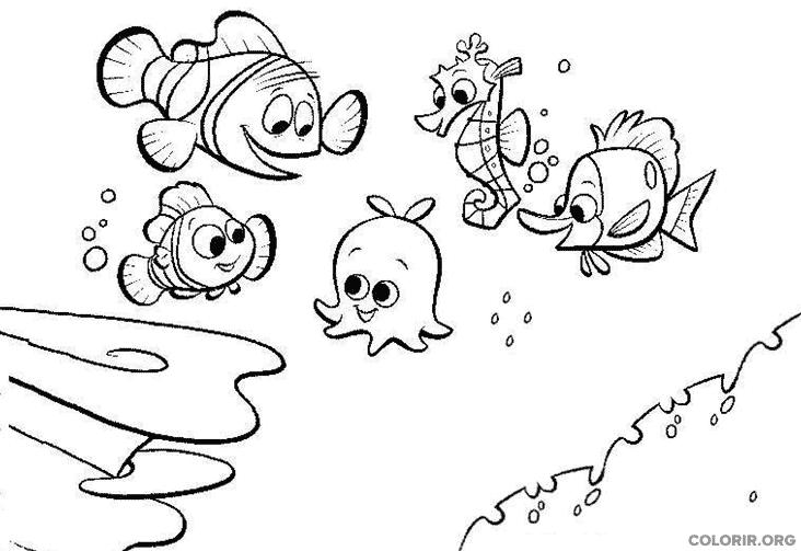 Desenho de Procurando Nemo (15)