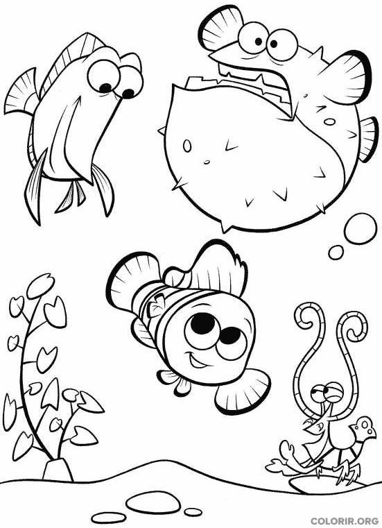 Desenho de Procurando Nemo (16)