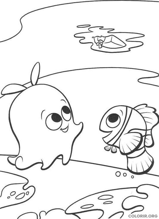 Desenho de Procurando Nemo (17)