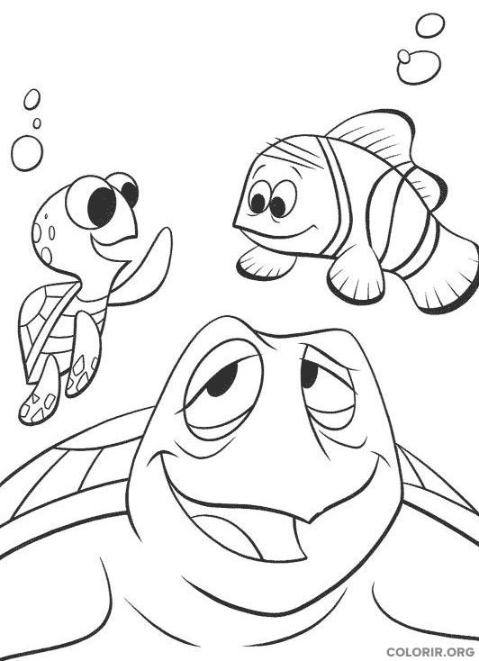 Desenho de Procurando Nemo (18)