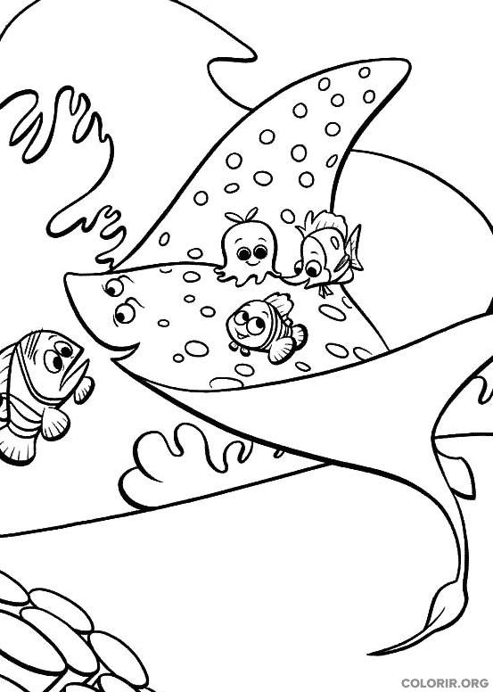 Desenho de Procurando Nemo (19)