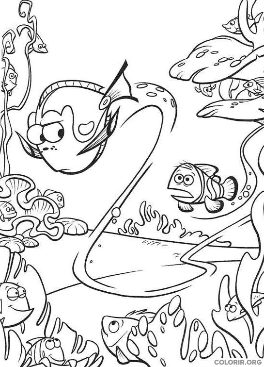 Desenho de Procurando Nemo (20)