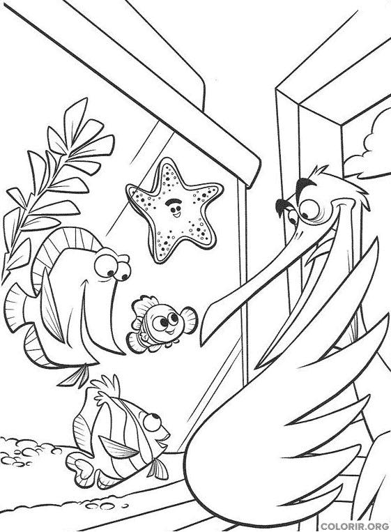 Desenho de Procurando Nemo (22)