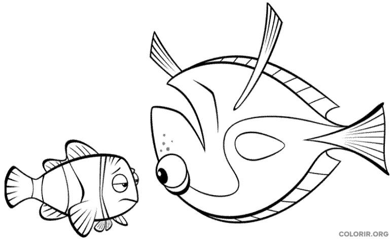 Desenho de Procurando Nemo (23)