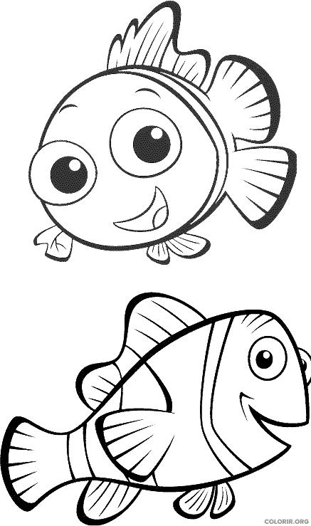Desenho de Procurando Nemo (26)