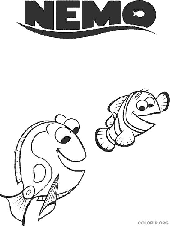 Desenho de Procurando Nemo (27)