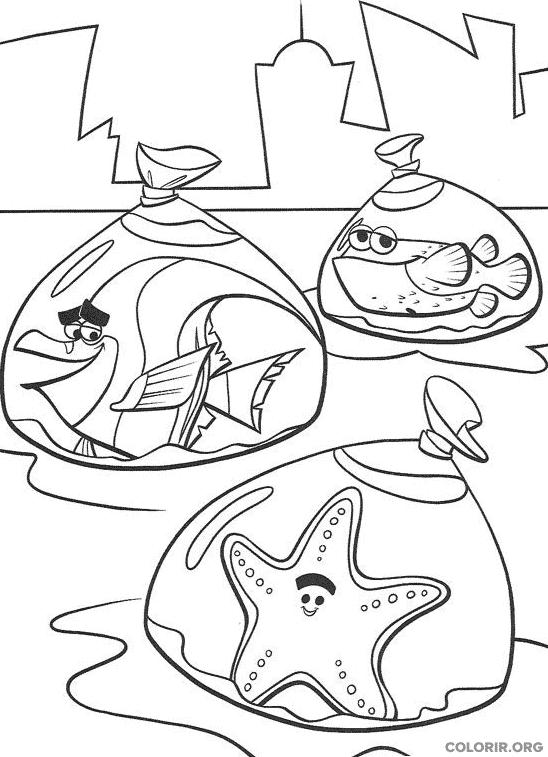 Desenho de Procurando Nemo (28)