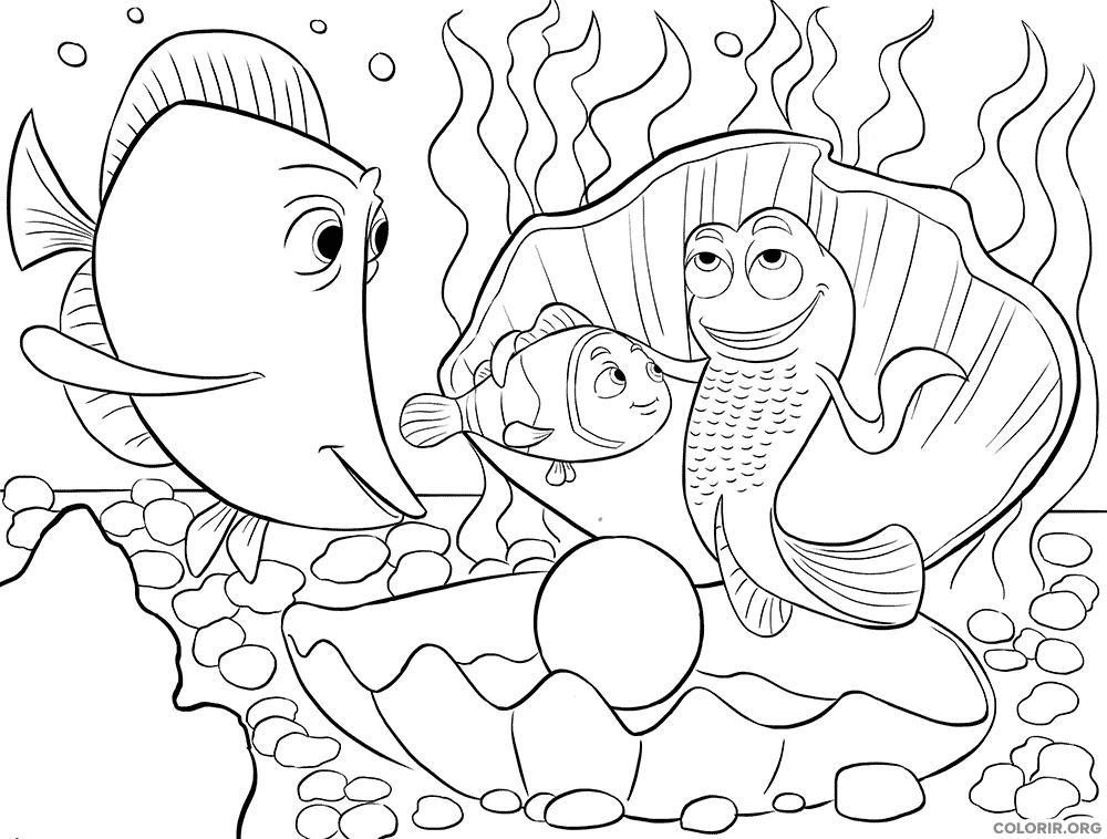 Desenho de Procurando Nemo (30)