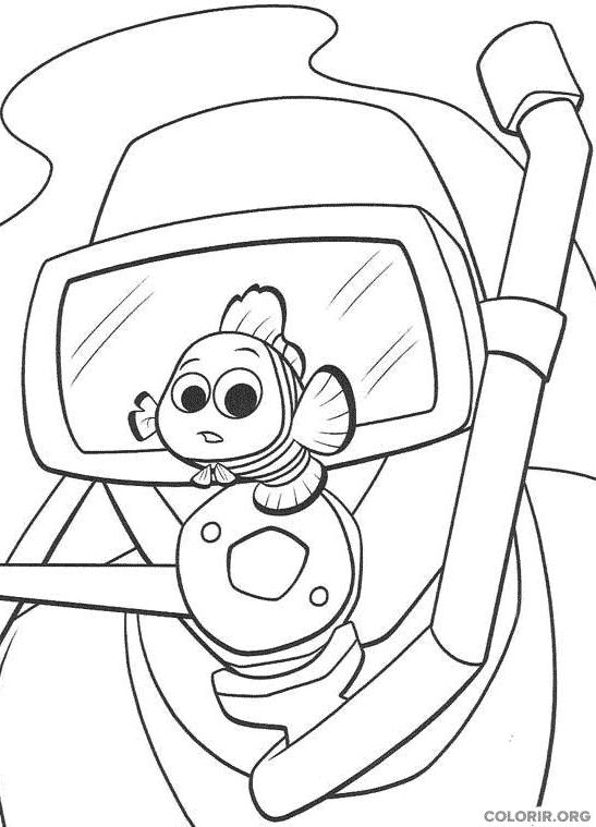 Desenho de Procurando Nemo (31)