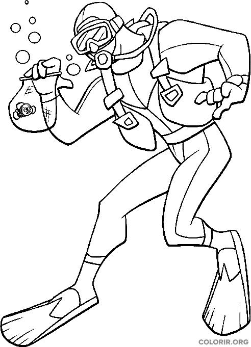 Desenho de Procurando Nemo (33)