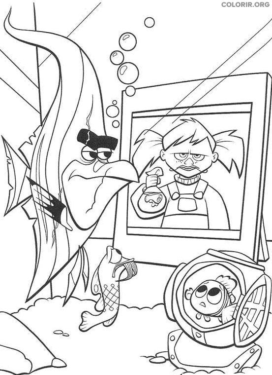 Desenho de Procurando Nemo (35)
