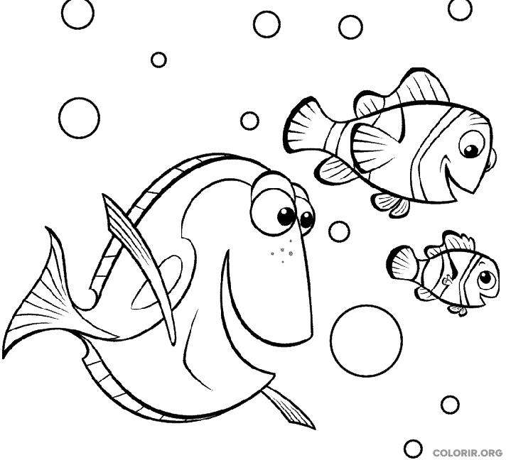 Desenho de Procurando Nemo (4)