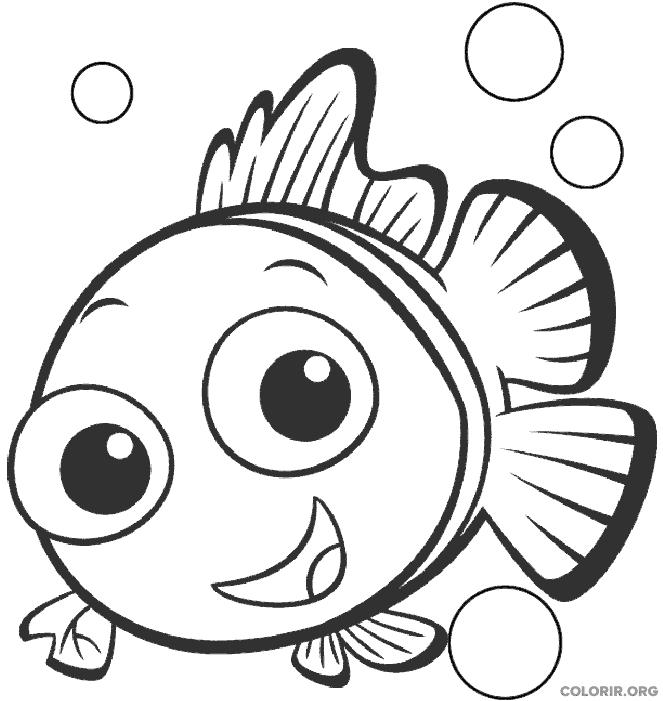Desenho de Procurando Nemo (8)